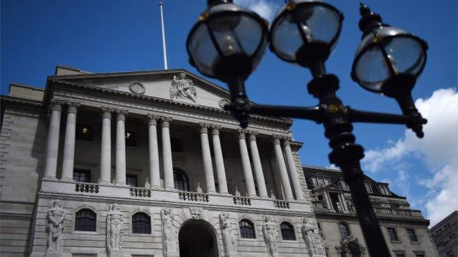 Trụ sở Ngân hàng Trung ương Anh (BoE) ở London, Anh - Ảnh: EPA/BBC.<br>