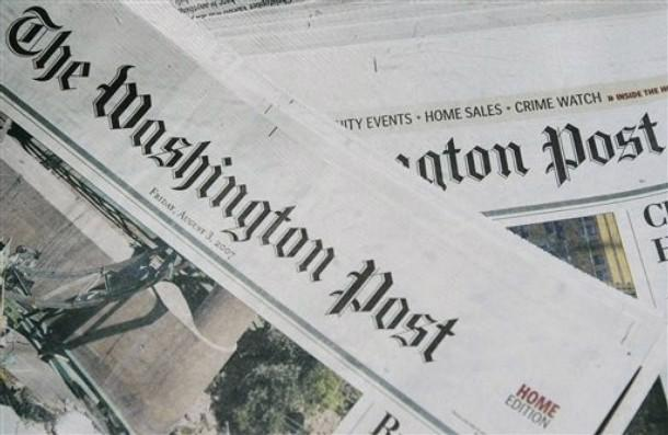 Washington Post đang phải vật lộn với khó khăn khi chuyển sang loại hình báo điện tử, còn số lượng báo in và quảng cáo sụt giảm - Ảnh: WP.<br>