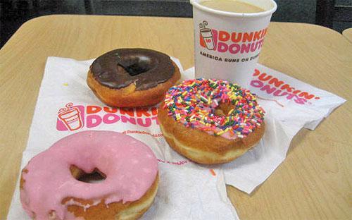 Dunkin' Donuts hiện có hơn 10.000 nhà hàng tại 32 quốc gia trên thế giới, bao gồm hơn 1.450 cửa hiệu ở khu vực Đông Nam Á.