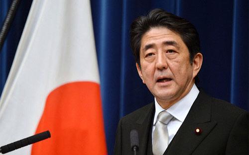 Thủ tướng Nhật Bản Shinzo Abe - Ảnh: Bloomberg.<br>