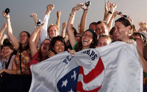 Peace Corps được thành lập theo một sắc lệnh của cố Tổng thống John F. Kennedy vào năm 1961.