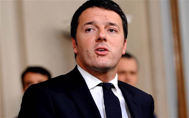 Thủ tướng Italy Matteo Renzi.<br>