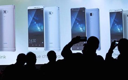 Sự kiện giới thiệu sản phẩm mới của Apple tại Berlin, Đức đầu tháng 9 vừa qua - Ảnh: Reuters/CNBC.<br>