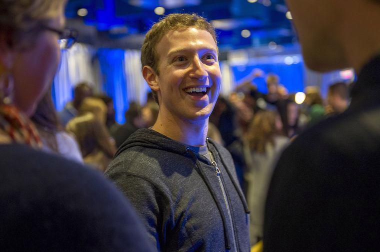 Tỷ phú Mark Zuckerberg, nhà sáng lập Facebook - Ảnh: Bloomberg.<br>