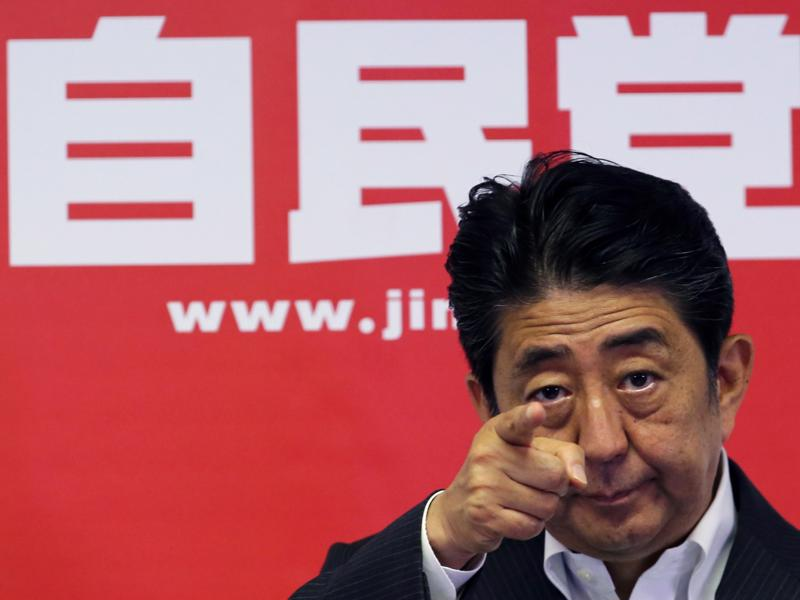 Thủ tướng Nhật Bản Shinzo Abe - Ảnh: AP/Business Insider.<br>