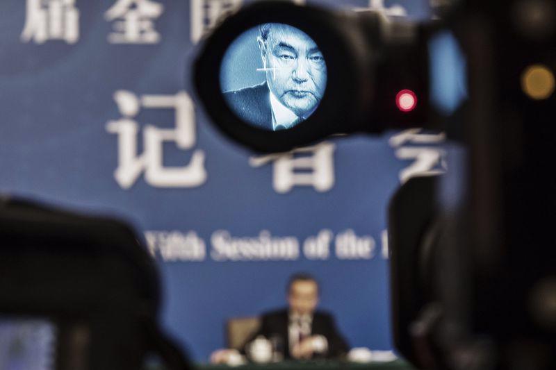 Ngoại trưởng Trung Quốc Vương Nghị - Ảnh: Bloomberg.<br>