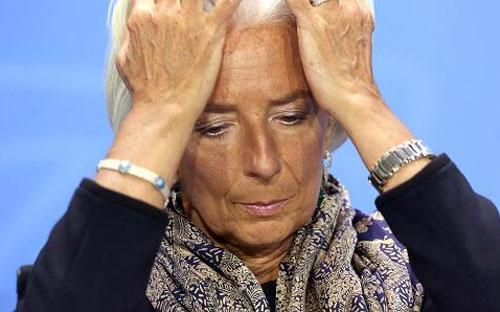 Giám đốc điều hành Quỹ Tiền tệ Quốc tế (IMF) Christine Largarde - Ảnh: CNBC/Getty.<br>