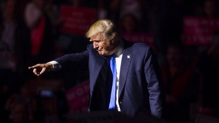 Tổng thống đắc cử của Mỹ Donald Trump - Ảnh: Getty/Bloomberg.<br>