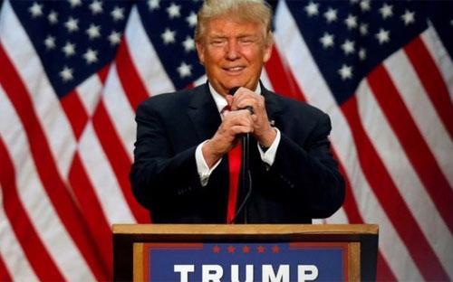 Ứng cử viên tổng thống Mỹ Donald Trump - Ảnh: Reuters.<br>