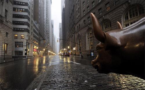 Năm nay, Phố Wall đã mất đi 1.200 việc làm, và vào tuần trước, Citigroup tuyên bố sẽ sa thải thêm 11.000 nhân viên nữa - Ảnh: Getty.<br>