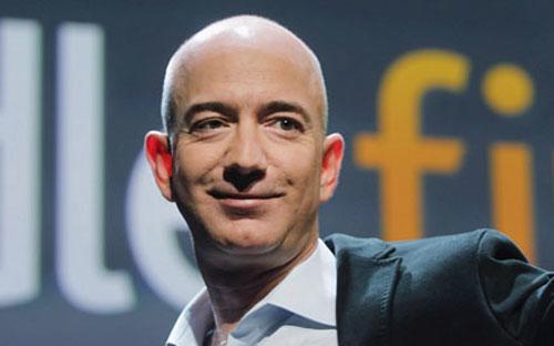 Tỷ phú Jeff Bezos - Ảnh: The Guardian.<br>