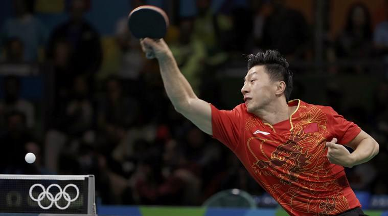 Một vận động viên bóng bàn Trung Quốc thi đấu tại Olympic Rio 2016 - Ảnh: Reuters.<br>