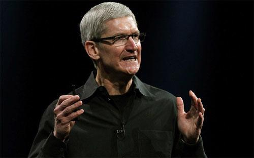 Lương cơ bản của Tim Cook năm nay tăng lên mức 1,4 triệu USD từ mức 900.000 USD trong năm 2011 - Ảnh: Business Week.
