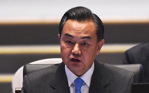Ngoại trưởng Trung Quốc Vương Nghị - Ảnh: Reuters.<br>