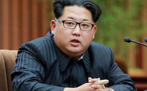 Nhà lãnh đạo Triều Tiên Kim Jong Un - Ảnh: Reuters/KCNA.<br>