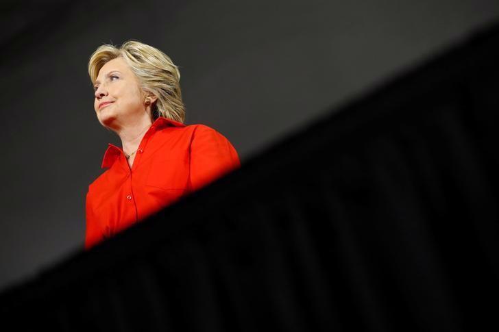 Ứng cử viên Tổng thống Mỹ Hillary Clinton - Ảnh: Reuters.<br>