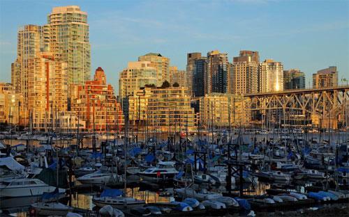 Khu vực phía Tây Vancouver, Canada, nơi nhà giàu Trung Quốc đổ tới tìm mua nhà - Ảnh: Bloomberg/Getty.<br>