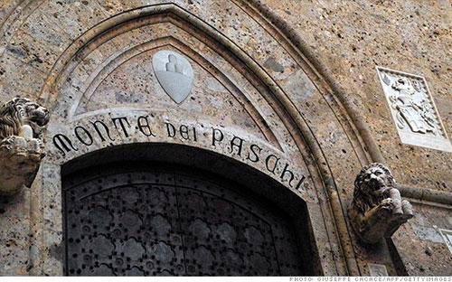"""Không chỉ là ngân hàng """"già"""" nhất thế giới, Monte dei Paschi còn là ngân hàng lớn thứ ba của Italy."""