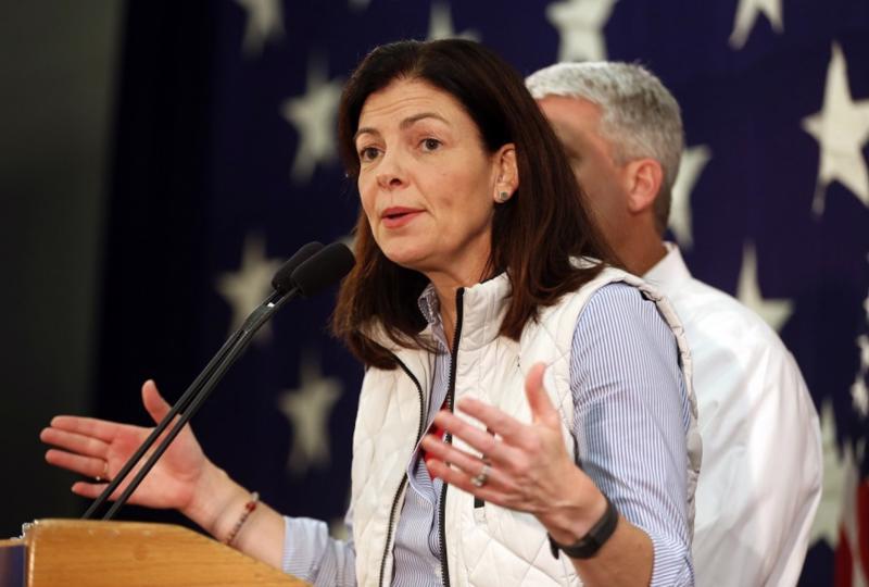 Bà Kelly Ayotte, người có thể được Tổng thống đắc cử của Mỹ Donald Trump bộ nhiệm vào ghế Bộ trưởng Bộ Quốc phòng - Ảnh: AP/WP.<br>