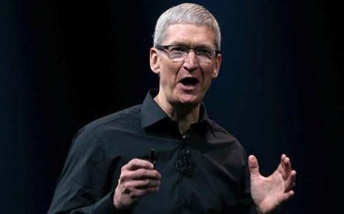 CEO Tim Cook của Apple - Ảnh: Justin Sullivan/Getty Images.