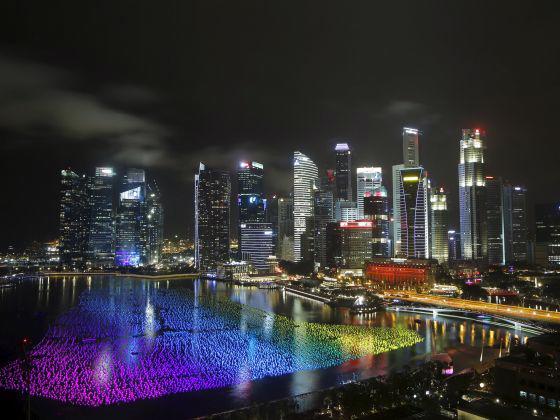 Vịnh Marina của Singapore - Ảnh: Reuters/Today Online.<br>