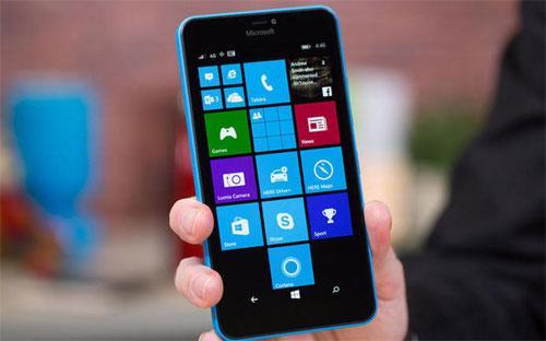 Một chiếc Windows Phone của Microsoft - Ảnh: CNet.<br>