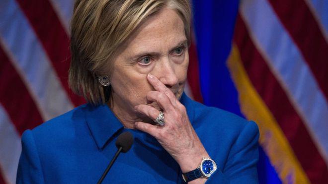 Bà Hillary Clinton - Ảnh: BBC.<br>