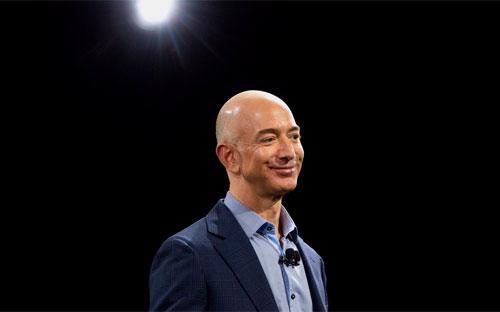 Tỷ phú Jeff Bezos - Ảnh: Bloomberg.<br>