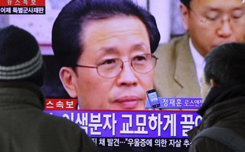 Ông Jang Song Thaek là chú dượng nhà lãnh đạo Triều Tiên Kim Jong Un - Ảnh: THX.<br>