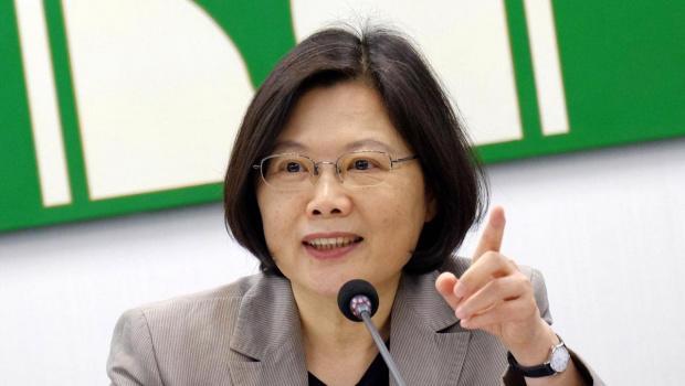 Nhà lãnh đạo Đài Loan Thái Anh Văn.<br>