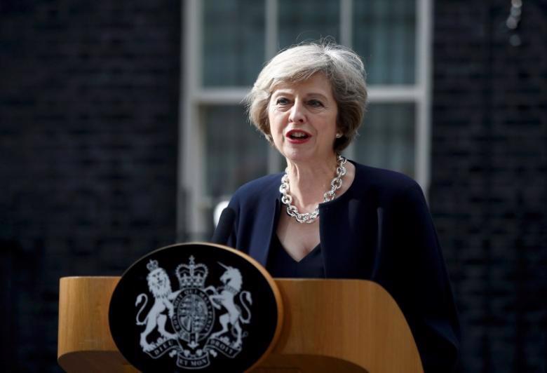 Thủ tướng Anh Theresa May - Ảnh: Reuters.<br>