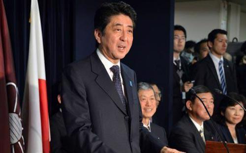Ông Shinzo Abe là người thứ hai có hai lần làm Thủ tướng Nhật Bản kể từ sau  Thế chiến thứ hai. Nhiệm kỳ trước của ông là năm 2006 - 2007.