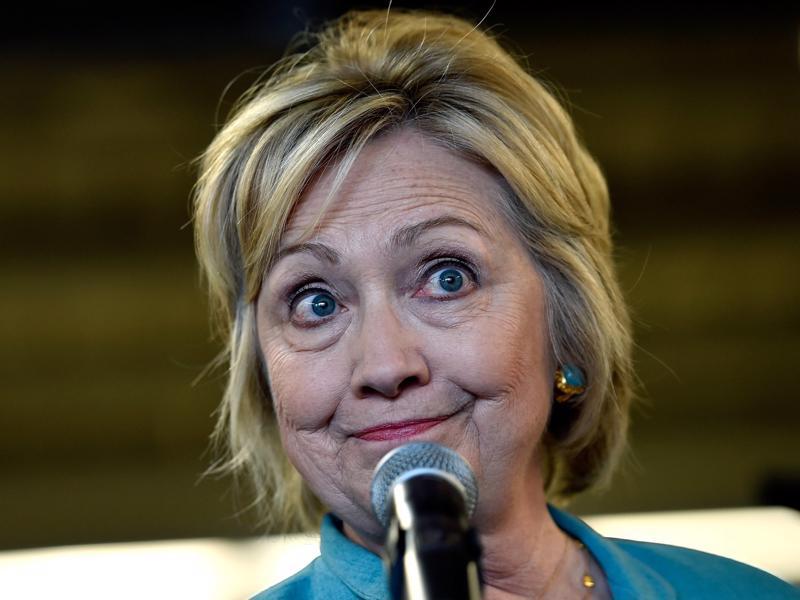 Ứng cử viên Tổng thống Mỹ của Đảng Dân chủ, bà Hillary Clinton - Ảnh: Getty/Business Insider.<br>