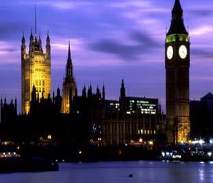 Một góc thủ đô London, Anh Quốc.