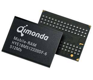 Một sản phẩm chip của Qimonda.
