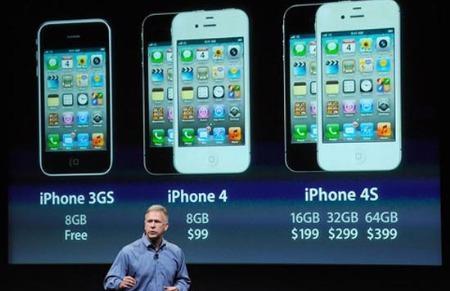 iPhone 4S đã được tới tay người tiêu dùng một số nước từ hôm 14/10.