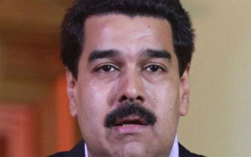 Tổng thống Venezuela Nicolas Maduro.<br>