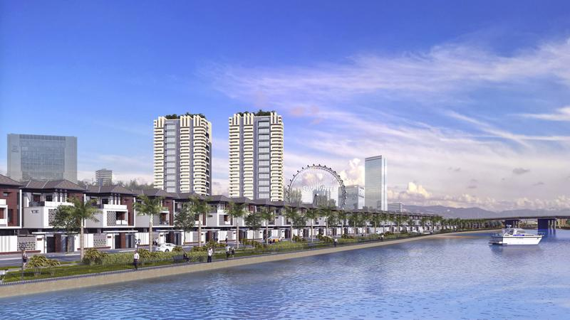Phối cảnh dự án Elysia Complex City.