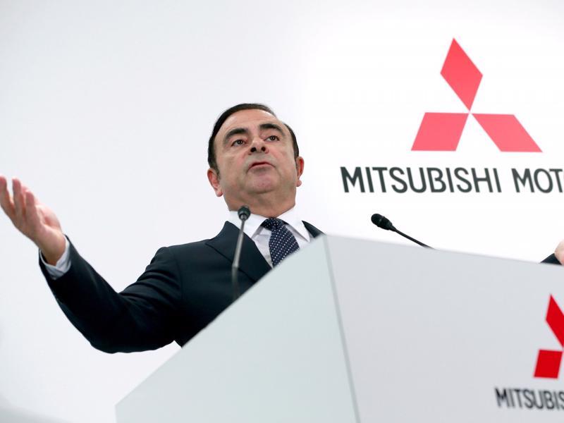 Ông Carlos Ghosn, Chủ tịch Mitsubishi - Ảnh: AP/Business Insider.<br>