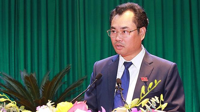 Tân Chủ tịch UBND tỉnh Thái Nguyên Trịnh Việt Hùng.