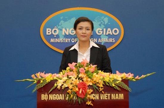 Bà Nguyễn Phương Nga, người phát ngôn Bộ Ngoại giao Việt Nam.