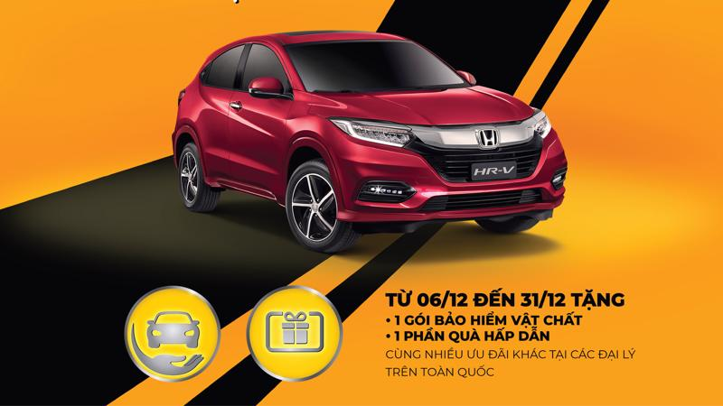 """Honda Việt Nam tiếp tục triển khai chương trình khuyến mại hấp dẫn """"Mua HR-V, nhận ngay quà chất""""."""