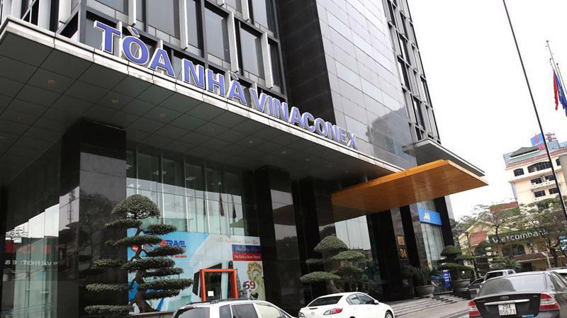Trụ sở Vinaconex tại Hà Nội.