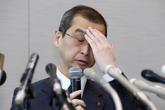 Chủ tịch kiêm Giám đốc điều Shigehisa Takada của Takata Corporation - Ảnh: Nikkei.<br>