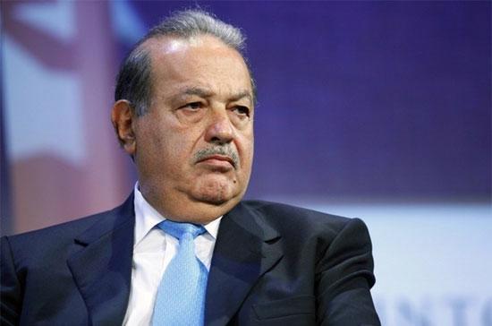 Carlos Slim, năm nay 70 tuổi, hiện nắm 23% cổ phần trong hãng viễn thông di động khổng lồ America Movil, sở hữu khối tài sản 53,5 tỷ USD - Ảnh: Reuters.
