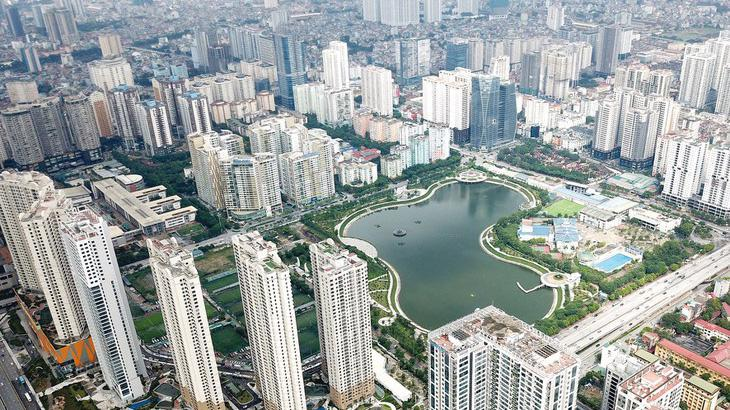 Mội số dự án căn hộ ở khu vực Mỹ Đình, dù không phải khu vực trung tâm, giá cũng đã được đẩy lên tới 50 - 60 triệu đồng/m2.