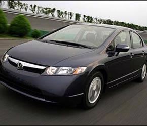 Honda Civic Hybrid sử dụng kết quả không chính xác của EPA - Ảnh: Honda