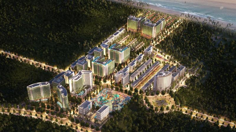 Sim Island là dự án duy nhất được thiết kế theo xu hướng đa dạng hóa nhu cầu của khách du lịch.