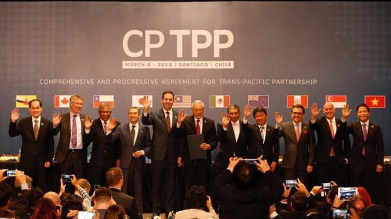 Hiệp định CPTPP chính thức được ký ngày 8/3 tại Chile.