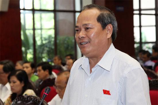 Ủy viên Thường trực Ủy ban Pháp luật của Quốc hội, đại biểu Ngô Văn Minh- Ảnh: NT.